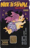 Denmark - Danmønt - Nibe Festival 2000 - DD225 - 300Kr. Exp. 05.2002, 1.200ex, Used - Dinamarca