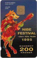 Denmark - Danmønt - Nibe Festival 1995 - DD055 - 200Kr. Exp. 08.1996, 1.250ex, Used - Dinamarca