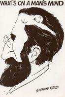 CPA. Illustrateur Sigmund Freud - Autres Illustrateurs