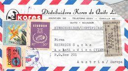 ECUADOR - AIRMAIL/RECO QUITO - VIENNA/AT /T203 - Equateur