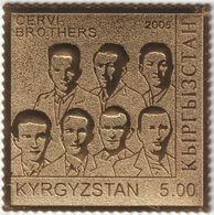 Kirghizstan 2005 Michel 424. Seconde Guerre Mondiale. Frères Cervi, Résistants Italiens - WW2