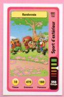 IM494 : Carte Looney Tunes Auchan 2014 / N°091 Sports D'extérieur Randonnée - Trading Cards