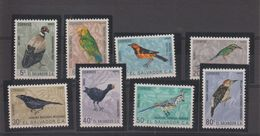 Salvador 1963 Oiseaux  PA 181-88 8 Val * Charn - El Salvador
