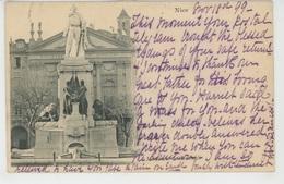 NICE - Monument De GARIBALDI (carte Postée En 1899) - Monumentos, Edificios