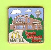 Pin's Mac Do McDonald's Ronald McDonald House Seattle - 10D25 - McDonald's