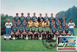 Cartolina Maximum: INTER CAMPIONE D'ITALIA 1989 - Cartoline Maximum