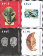 Kosovo 79-82 (kompl.Ausg.) Postfrisch 2007 Masken - Ungebraucht