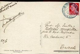 55620 Italia, Circuled Card 1937  Salsomaggiore Terme,  Spa, Baths, établissement Thermal - Bäderwesen