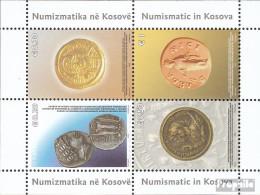 Kosovo Block4 (kompl.Ausg.) Postfrisch 2006 Historische Münzen - Blocks & Kleinbögen