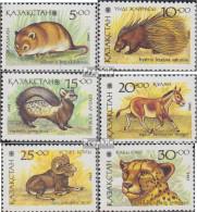 Kasachstan 31-36 (kompl.Ausg.) Postfrisch 1993 Tiere - Kazakhstan