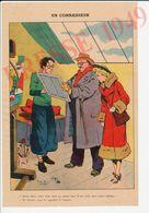 Gravure Presse 1949 Format 26 X 17 Cm Humour Art Moderne Peinture Tableau Atelier Artiste-peintre 229CH24 - Unclassified