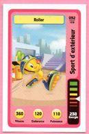 IM495 : Carte Looney Tunes Auchan 2014 / N°092 Sports D'extérieur Roller - Trading Cards