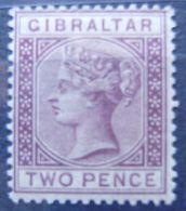 GIBRALTAR - IVERT Nº 10 - NUEVO * CON FIJASELLOS - EL DE LA FOTO - Gibraltar