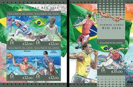 Salomon 2016, Olympic Games In Rio, 4val In BF +BF - Verano 2016: Rio De Janeiro