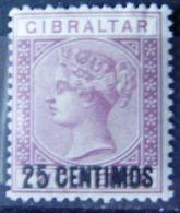 GIBRALTAR - IVERT Nº 17 - NUEVO * CON FIJASELLO - EL DE LA FOTO - Gibraltar