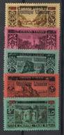 Grand Liban - 1928 - Taxe TT N°Yv. 21 à 25 - Série Complète - Neuf Luxe ** / MNH / Postfrisch - Groot-Libanon (1924-1945)