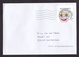 Netherlands: Cover, 2020, 1 Stamp + Tab, Smiley Face, Congratulations, Star Eyes, Happy, Smile (traces Of Use) - Periodo 2013-... (Willem-Alexander)