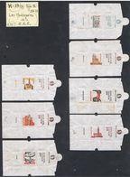 EMBALLAGES DE SUCRE-FRANCE-MONUMENTS DE LA CEE-H 19 / 29-TYPE 2- - Sucres