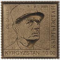 Kirghizstan 2005 Michel 429. Seconde Guerre Mondiale. Charles De Gaulle (1890-1970), Général Et Président Français - De Gaulle (General)