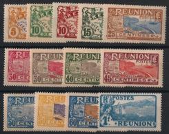 Réunion - 1922-26 - N°Yv. 84 à 96 - Série Complète - Neuf Luxe ** / MNH / Postfrisch - Réunion (1852-1975)