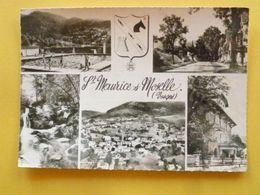 V10-88--vosges-- Saint Maurice Sur Moselles- Multivues--1961- - France
