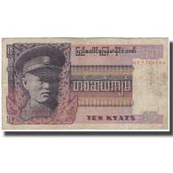 Billet, Birmanie, 10 Kyats, KM:58, B - Myanmar