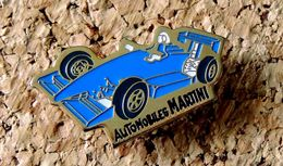 Pin's FORMULE 2 Voiture De Course AUTOMOBILES MARTINI Peint Cloisonné - F1
