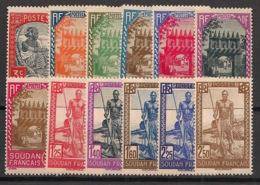 Soudan - 1939 - N°Yv. 110 à 121 - Série Complète - Neuf Luxe ** / MNH / Postfrisch - Soedan (1894-1902)