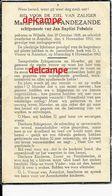 Oorlog Guerre Maria Vandezande Wilsele GESNEUVELD Bombardement Te Aarschot 4 Nov 1943 Fobelets - Andachtsbilder