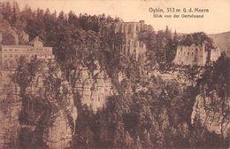 OYBIN, BLICK VON DER OERTELWAND 1921 /T218 - Oybin