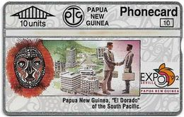 Papua New Guinea - Telikom - L&G - Investment - 306D - 01.1993, 10U, 16.000ex, Mint - Papouasie-Nouvelle-Guinée
