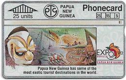 Papua New Guinea - Telikom - L&G - Tourism - 401D - 01.1994, 25U, 32.000ex, Used - Papouasie-Nouvelle-Guinée