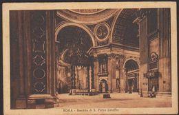 Vaticano Roma Basilica San Pietro Baldacchino, Vatican Rome St. Peter's Baldachin, Basilique Saint-Pierre CAR00071 - Vatican