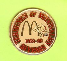 Pin's Mac Do McDonald's Terhune's 30 Years Speedee - 7F03 - McDonald's