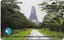 São Tomé And Príncipe - CST - L&G - Mountain - 806L - 20U, 6.000ex, Used - San Tomé E Principe