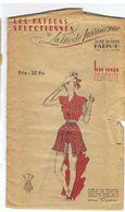 Ce Deux Pièces Composé D'un Boléro Et D'une Jupe Plissée Les Patrons Sélectionnés De La Mode Parisienne Année 1930 - Patrons