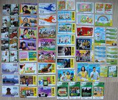 Indonesia, 49 Rare Phonecards - Indonésie