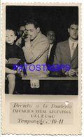 136688 ARGENTINA BUENOS AIRES PALERMO EXPOSICION RURAL COSTUMES MARCADO COMO PREMIO PUNTERIA YEAR 1941 PHOTO NO POSTCARD - Fotografía