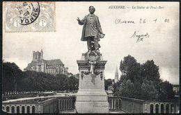 D7888 - Auxerre - La Statue De Paul Bert - Denkmal Monument Statue - Monumentos