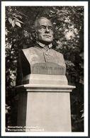 D7889 - Wernigerode - Victor Aime Huber - Rüstzeitheim Huberhaus - Denkmal Monument Statue - Monumentos