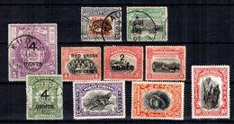 Bornéo Petite Collection 1899/1931. Bonnes Valeurs. B/TB. A Saisir! - Nordborneo (...-1963)