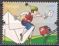 Portugal  (2008)  Mi.Nr.  3283  Gest. / Used  (8gj12) EUROPA - 1910-... République