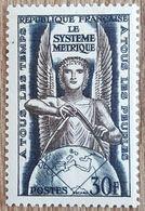 YT N°998 - Le Système Métrique - 1954 - Neuf - Frankreich