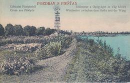 CP - Piešťany - Pöstyény - Piszczany) - Trnavský Kraj - Slowakei - Slovacchia