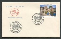 FDC ITALIA 2011 - CAVALLINO - VILLA ADRIANA TIVOLI - 277 - 6. 1946-.. Republik