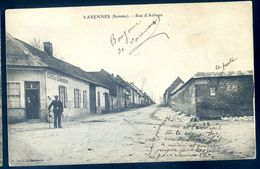 Cpa Du 80 Varennes Rue D' Acheux  AVR20-89 - France