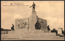 D7892 - Bruxelles Laeken - Monument A La Glorofication Du Travall De Constantin Meunier - Monumentos