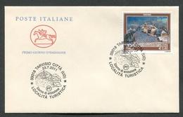 FDC ITALIA 2011 - CAVALLINO - LOCALITA' TURISTICA - TARVISIO - 278 - 6. 1946-.. Republik
