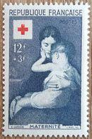 YT N°1006 - Croix Rouge - 1954 - Neuf - Frankreich