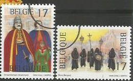 Nr. 2823/24 Specimen Voor De Pers. Toerisme Folklore.  Zeldzaam - Belgien